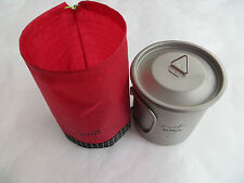 Battistrada Lite Gear Stuff Sack per alpkit 400 TITANIO tazza pot Ultralight 5 G