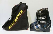 Men's SALOMON Performa-9x Ski Boots Black 27.5 UK 8.5 -232