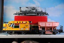 LGB Spur G 2-4-Achs Güterwagen Kranwagen 3-tlg.