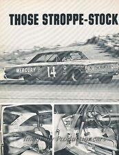 1963 Mercury Marauder Race Original Car Review Report Print Article J803
