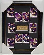 2017 NRL Traders Cards Melbourne Storm Team Set Framed Smith Billy Slater Cronk