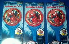 Spiderman Balloons - Blow up with air - 3 Balloons - Free Post