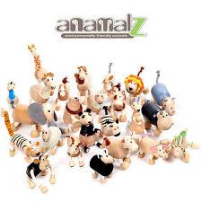 All Natural Anamalz Toy Farm Animals 24PCS New Boys & Girls Gift Toys