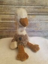 Gund Vintage 1986 Plush Ostrich Hand Puppet Collectors Classics Limited Edition