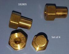 Austin Healey 100, 100/6, 3000 Austin A30, A35 Brass Headlight Mounting Nut Set