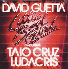 CD Single David GUETTA Feat Taio CRUZ LUDACRIS	Litlle bad girl 2-track CARD SLEE