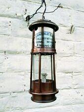 Antique Kerosene Lamp Lantern Working Condition Brass Decorative Vintage Lamp