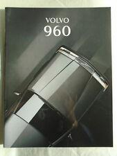 Volvo 960 range brochure 1994 German text