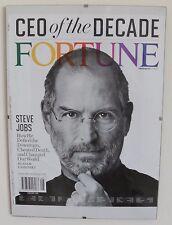 APPLE STEVE JOBS, Portada Cover, FORTUNE Revista Magazine 2009