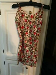 Fredericks of Hollywood Animal Print Chemise / Size M / New With tags