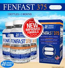 Fenfast 3 Bottle Pack! Weight Loss Diet Pills NEW FORMULA - White/Blue Tablets