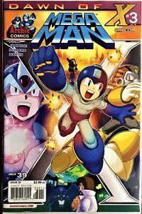 MEGA MAN COMIC BOOK #39 September 2014 DAWN OF X Part 3 Bagged Board NM+