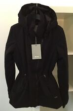 Bench Ladies Quilted Jacket Removable Hood ~ BLKD2062 ~ Size Small