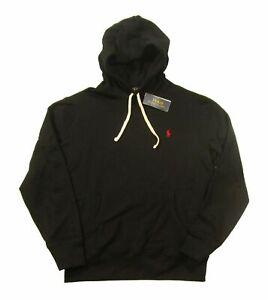 Polo Ralph Lauren Men's RL Fleece Pullover Hoodie Black L
