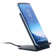 QI Induktiv Kabellos Schnelllader Charger Lade Docking Station für Samsung S8