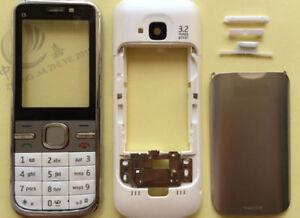 Body bezel housing cover case keypad Keyboard For Nokia C5 C5-00 White Black