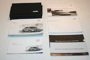 AUDI A4 MK4  OWNERS MANUAL / USER HANDBOOK WALLET, 2008-2010   PRINT 01/2008