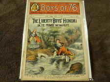 """Rare July 4, 1902 THE LIBERTY BOYS OF """"76"""" #79 Pulp REVOLUTIONARY WAR Dime Store"""