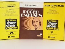 Earth Wind & Fire The Love Boat Listen To The Music Sheet Music Roger Emerson
