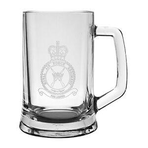 Royal Air Force Regiment (RAF) Heeled Glass Tankard