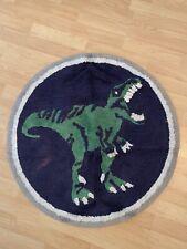 Pottery Barn Kids T Rex Bath Mat Round Dinosaur Rug