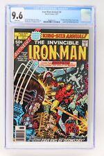 Iron Man Annual #4 - Marvel 1977 CGC 9.6 Champions (Black Widow, Hercules, Angel