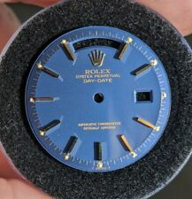 ROLEX Gloss Blue 1803 Day Date Dial - RARE Vintage President Watch 1970s
