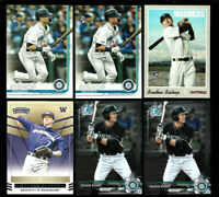 BRADEN BISHOP prospect LOT rookie 2019 Topps 2017 Bowman chrome 2015 contenders