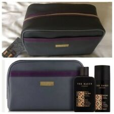 Ted Baker London Men's WashBag Hair Body Wash & Body Spray Gift Set Bag Genuine