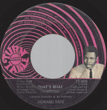 Howard Tate That's What Happens / These Are The Things 45 1969 Soul Turntable vg