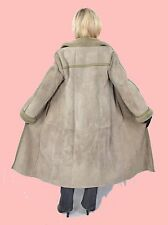 WOMEN M L Shearling Lambskin Sheepskin Fur Leather Coat Jacket LADIES MM578