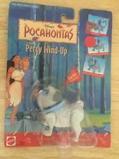 Mattel- Disnney's Pocahontas, Percy Wind Up.  Rare, New in Box