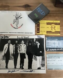 The Clash, Big Audio Dynamite signed photo autographed, Gig Tickets and more…
