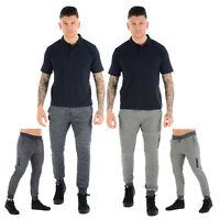 SOUL STAR MENS SLIM FIT S JOGGERS SWEAT PANTS FLEECE TRACKSUIT JOGGING BOTTOMS