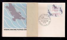 AUSTRALIA Frama Vending Platypus animal 1987 FDC set of 9.  Free shipping