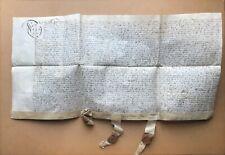 [1620] Surrey Vellum Deed Document