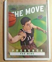 2003 Topps Chrome Yao Ming The Move Presence #TM17 MINT+ Houston Rockets
