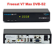 Genuine Freesat V7 Max 1080P HD DVB-S2 Digital satellite TV Receiver PowerVu