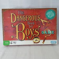 The Dangerous Book For Boys Family Board Game Parker Brothers Ages 8+ Adventures