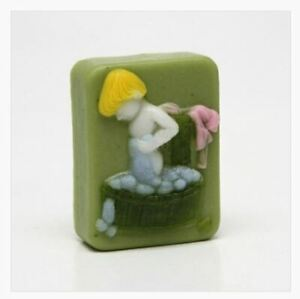 (Silicone) Bathing Child Silicone soap Mould plaster Mold