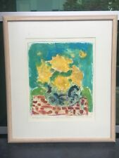 Susan Bolt COLLOGRAPH Signed And 3/15