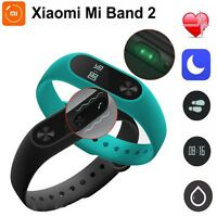 Original Xiaomi Mi Band 2 Waterproof Smart Wristband Bracelet Heart Rate Monitor