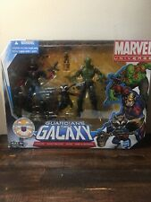 "Marvel Universe 3.75"" Guardians of the Galaxy 2011 Groot, Rocket, Drax, Starlord"