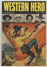 Western Hero (1949) #77 Tom Mix Painted Cover Hopalong Cassidy Gabby Hayes VF