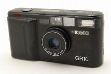 【B V.Good】 RICOH GR10 Black 35mm Point & Shoot Film Camera 28mm f/2.8 Lens #2915