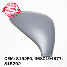 Right Side Wing Mirror Cover Cap Casing Primed For Peugeot 207 2006 onwards
