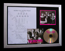 ONLY ONES Another Girl Planet LTD TOP QUALITY CD FRAMED DISPLAY+FAST GLOBAL SHIP
