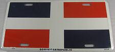 Dominican Republic Flag Metal License Plate Sign L165