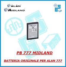 PB 777 PACCO BATTERIA litio ORIGINALE per  ALAN MIDLAND 777 radio 3,7 V 650 mHa