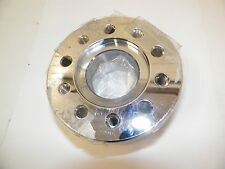 """New 1 5/8"""" Axle Chrome Front Disc Hub Spacer w/Hardware"""